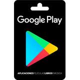 Tarjeta De Google Play De $10