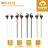 Auriculares Moonki Sound Mh-i312 Sport Sonido Superior.