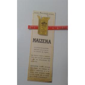 Marcador De Páginas Maizena Com Tabela De Pesos E Medidas