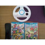 Vendo Control Nintendo Wiiu Mario Kart Y 2 Juegos Originales