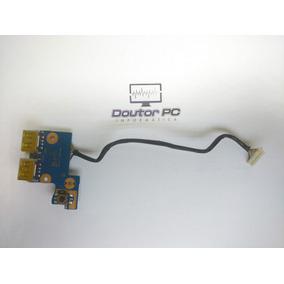 Placa Power + Usb Notebook Samsung Np300e4c-ad4br
