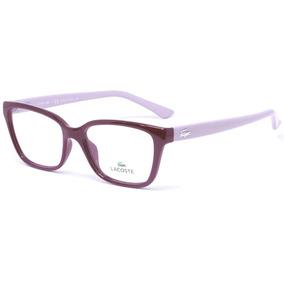 Óculos Lacoste L2785 526 51 - Vermelho rosa - Melhor Preço 110cb9664f
