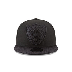 New Era Cap - Raiders Edición Especial Triple Black 7 1 2 f48645658e1