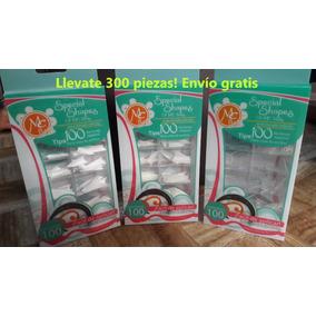 Tips Punta De Lanza, Uñas, Mc Nails, 300 Piezas Envío Gratis