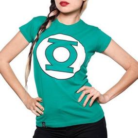 Playera Linterna Verde Mujer Dc Comics Originals