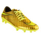 Chuteira Nike Hypervenom Dourada Campo - Esportes e Fitness no ... b2559bfec5309