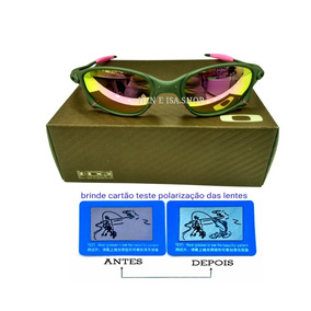 ec2dc5bd2261d Oculos Juliet Rosa Feminino - Óculos De Sol Oakley no Mercado Livre ...