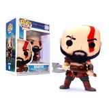 Kratos God Of War Simil Funko Pop 9,5 Cm Juguetería Medrano