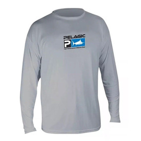 Playera Pelagic Aquatek Performance Grey Mls7650 T- Xl 61b21aebc7a