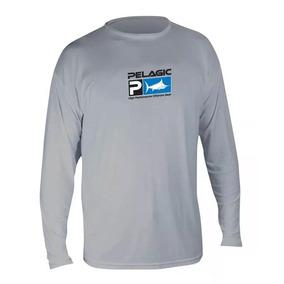 Playera Pelagic Aquatek Performance Grey Mls7650 T- Xl b00a739fd4a