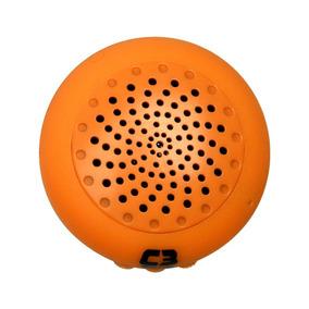 Caixa De Som Portátil 3w Bluetooth Laranja 4040201601