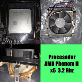 Procesador Amd3+ Phenom Ii 3.2 Ghz X6 Black Edition