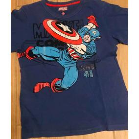 Playera Capitán America Marvel Comics