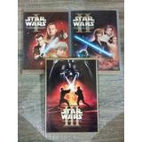 Trilogia Star Wars Dvd Originales. Episodios I , Ii, Y Iii