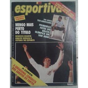 1979 Revista Manchete Esportiva Nº 90 Bloch Pôster Santos
