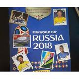 Estampas Álbum Panini Mundial Rusia 2018