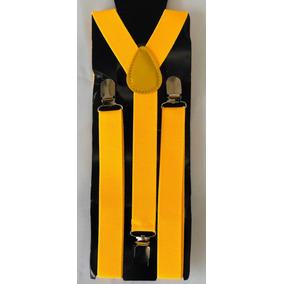 Tirantes Suspenders Unisex Varios Colores. Los Originales