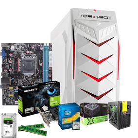 Pc Gamer Cpu Yesstech X Intel Core I3 8gb 1000gb Gt710 2gb