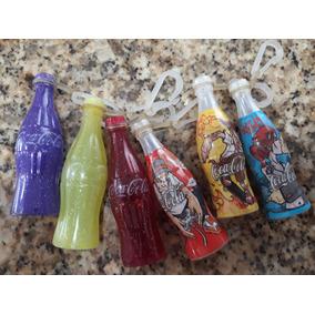 Chaveiro Mini Garrafinhas Coleção Coca Cola