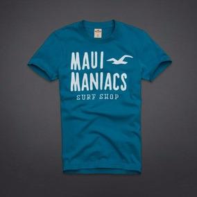 1a7ce1b9fb371 Hollister Camiseta Masculina Surfriders Beach - Várias Cores