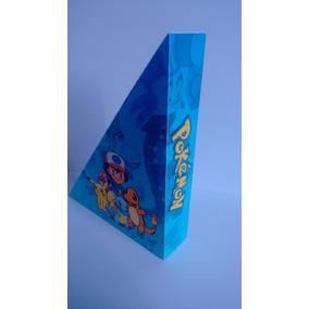 Porta Guardanapos Lembrancinhas Aniverários Pokemon