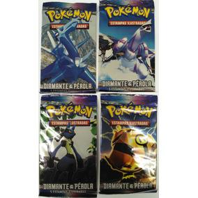 Cards Booster Pokemón Diamante & Pérola - Antigas!!!
