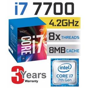 Kit Intel 7ª Geração I7 7700, 8gb Ddr4 Hyperx Ga H110m-h