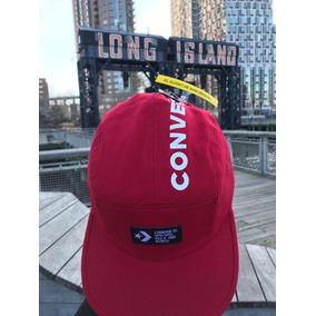 Gorra Converse Co.enamel Roja Letras Bca Unisex Unit Con720 10b874e662e