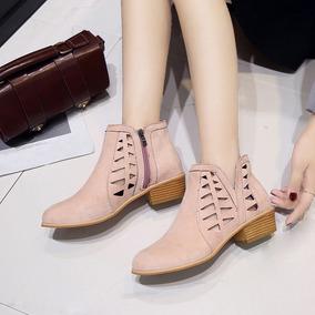 cb0c7158848 Botas De Dama Cuero - Zapatos Rosa en Mercado Libre México