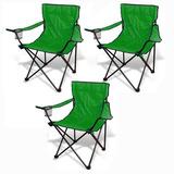 Sillas Plegables Set 3 Alberca Playa Camping Jardin Pesca