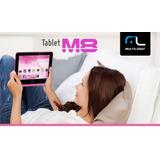 Tablet M8 Wifi, Hdmi, Dual Camera Usb Rosa Lindo Multilaser