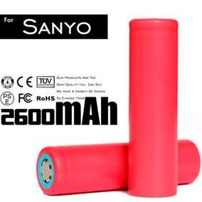 Bateria 18650 Sanyo Ur18650 2600mah O Célula Original
