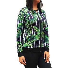 91d1ba6470a Blusa De Frio Feminina Adidas - Casacos Verde no Mercado Livre Brasil