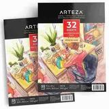 Papel Acuarela Arteza Profesional 9x12/compreonline