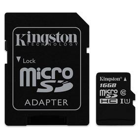 Memoria Kingston Sdc10g2/16gb Con Adaptador