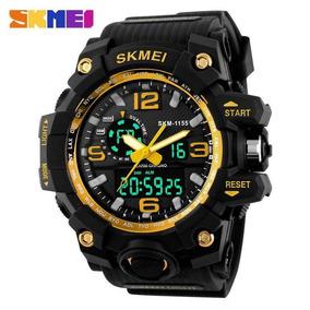 Relógio Skmei 1155 Gold, Prova D