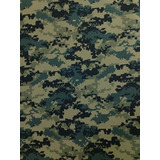 Tecido Camuflado Militar Rip Stop Digital Woodland -3 Metros ba306650487