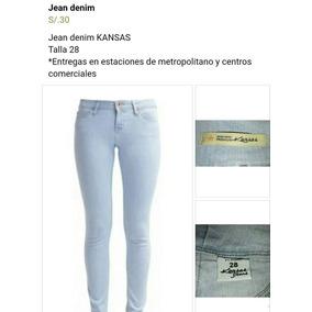 Jeans Kansas Mujer - Ropa y Accesorios en Mercado Libre Perú 8c3a00e9e6b8