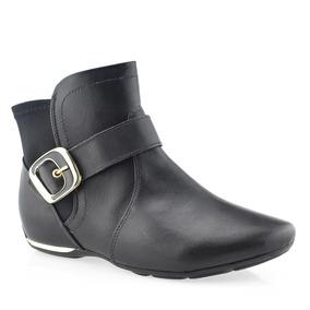 2ae34598f Bota Feminina Cano Baixo Coleção 2012 Comfortflex - Sapatos para ...