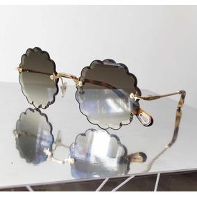 c33604af94048 Óculos Chloé Rosie Cinza Novo Original Completo Com Garantia