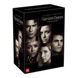 Box Dvd Vampire Diaries A Coleção Completa - 1ª A 8ª .