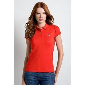 d7a85a741d9ea Polo Feminina Lacoste Vermelha Original - Calçados, Roupas e Bolsas ...