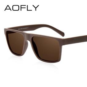 Óculos Sol Masculino Aofly + Bag Luxo + Flanela + Teste 01 ed196cf624