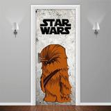 Adesivos Decorativos Star Wars Darth Vader Chewbacca
