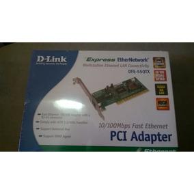 Tarjeta Pci Adapter D-link Express Def 550-tx