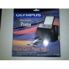 Papel Fotografico Olympus Camedia P400