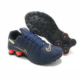 3a3bbad4289 Kit 2 Pares Masculino Tênis Nike Shox Nz 4 Mola Original