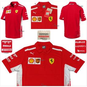 Polo Ferrari F1 Puma Raikkonen Vettel Genuina Linea 2018