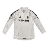 Camisa Real Madrid Manga Longa 2005 Zidane 5 Envio Imediato
