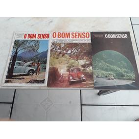 Revista O Bom Senso Da Década De 60 Fusca E Kombi Antiga!!!
